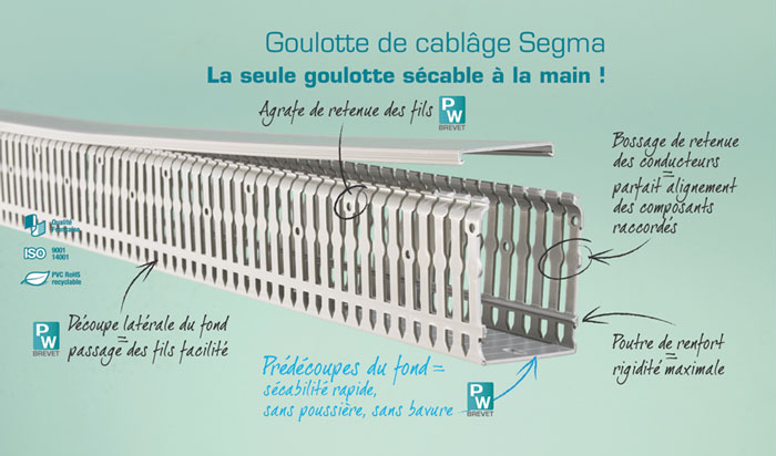 Segma planet wattohm for Goulotte de debordement pour piscine